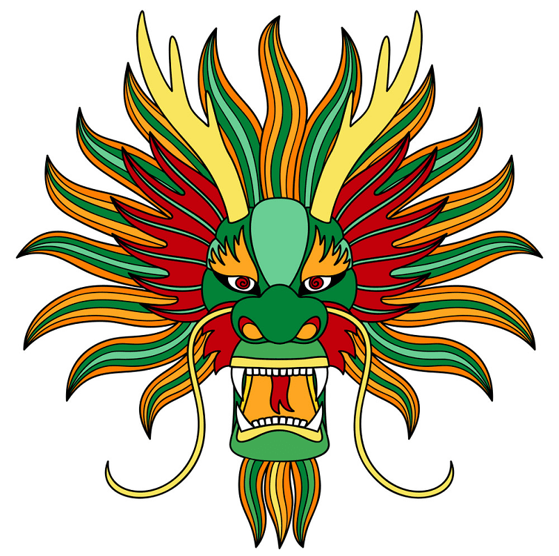 Chinese Dragon clipart 1