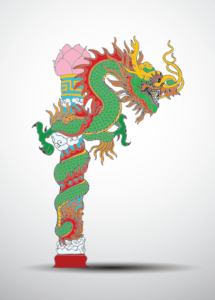 Chinese Dragon clipart 2