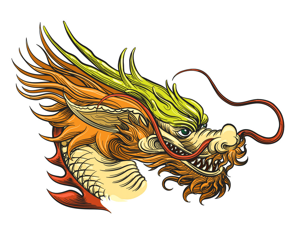 Chinese Dragon clipart 3