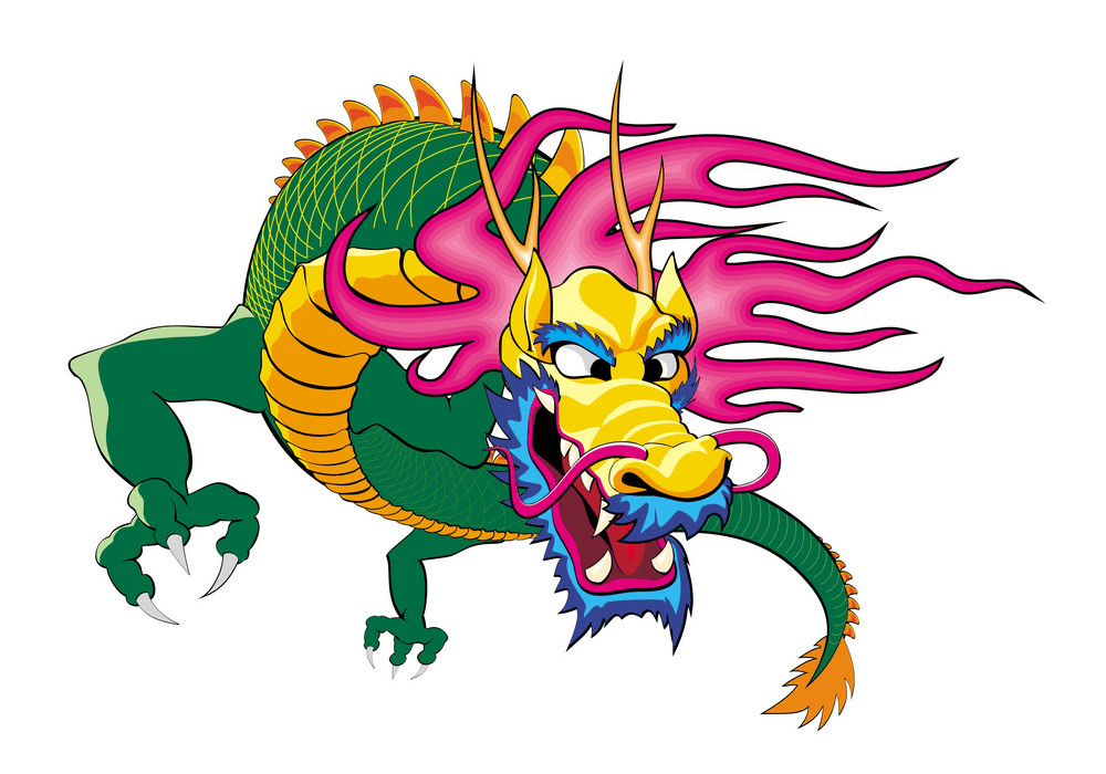 Chinese Dragon clipart 6