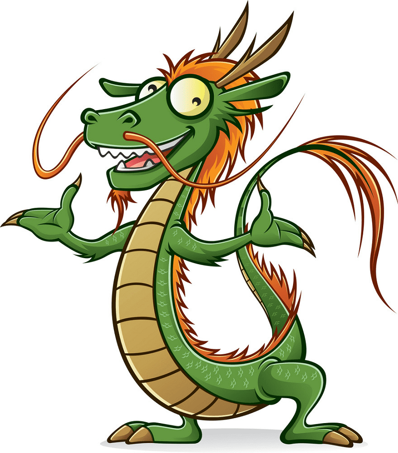 Chinese Dragon clipart 7