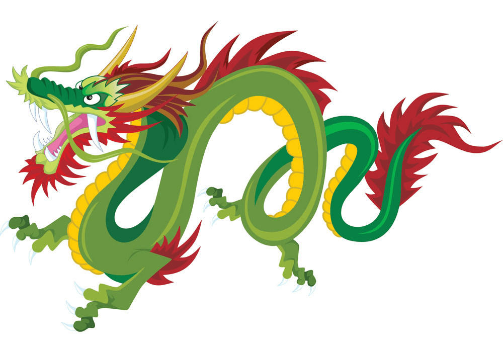 Chinese Dragon clipart free