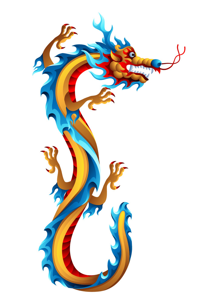 Chinese Dragon clipart image