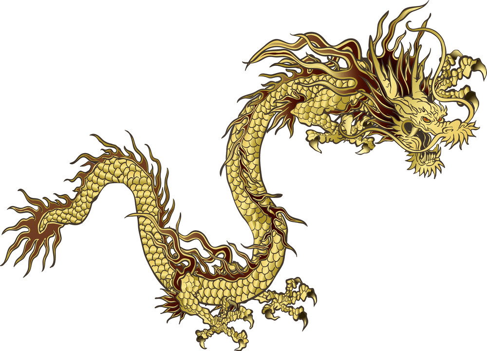 Chinese Dragon clipart png