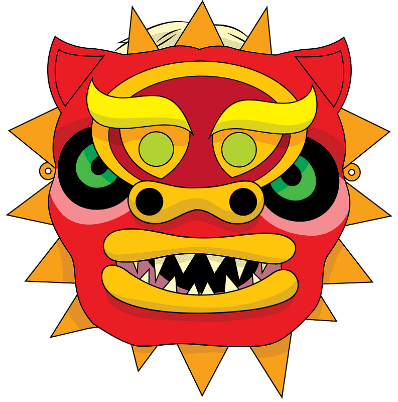 Chinese Dragon clipart transparent 3