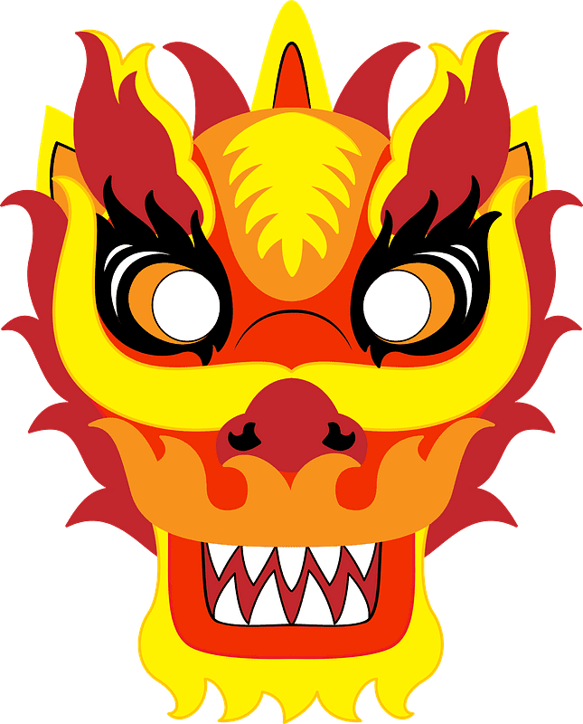 Chinese Dragon clipart transparent 5
