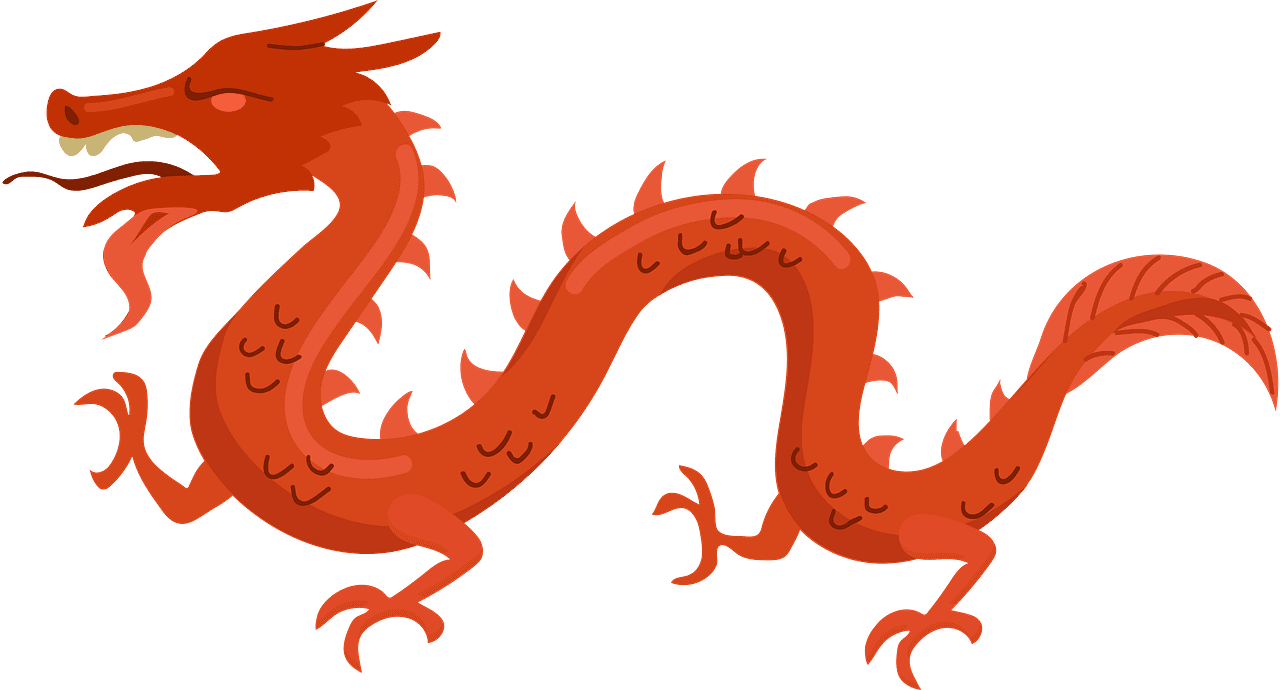 Chinese Dragon clipart transparent free