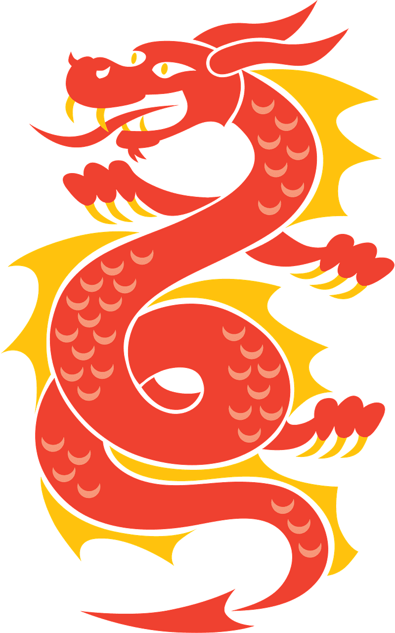 Chinese Dragon clipart transparent