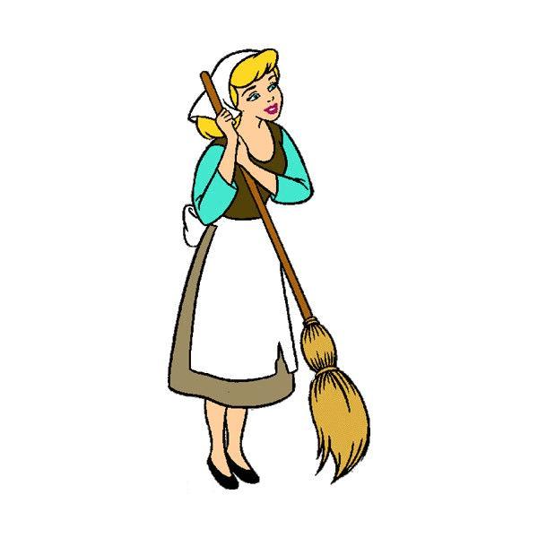 Cinderella Disney Princess clipart 6