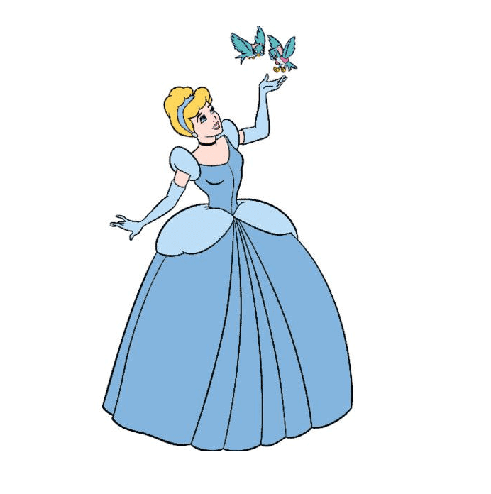 Cinderella Disney Princess clipart free
