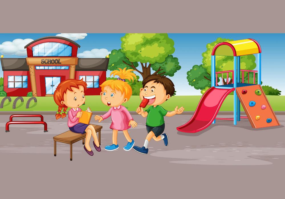 Clipart School Playground free