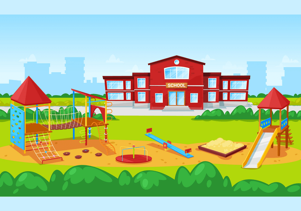 Clipart School Playground png free