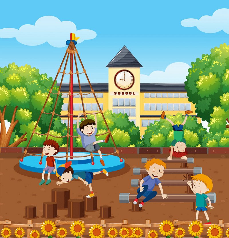 Clipart School Playground png image