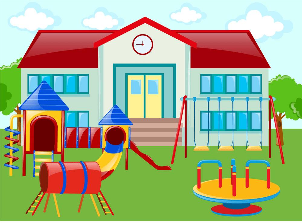 Clipart School Playground