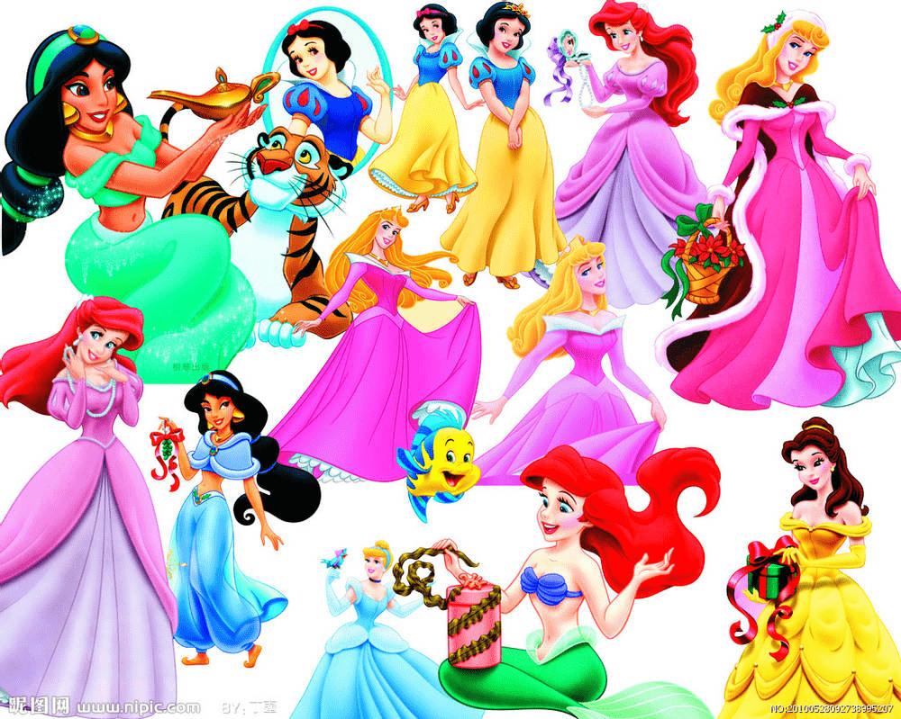 Disney Princesses clipart 2