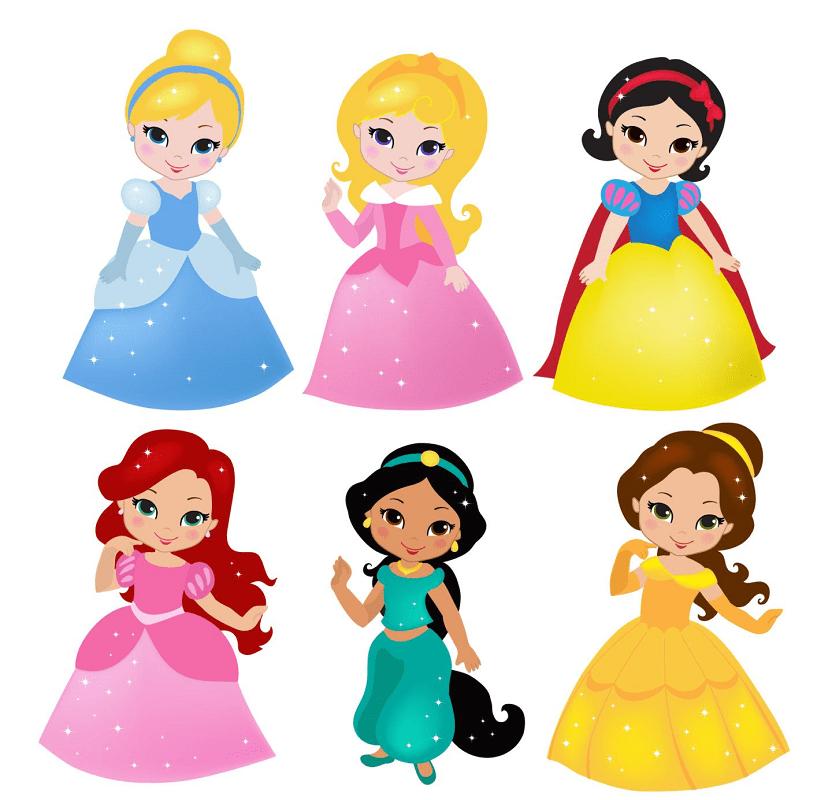 Disney Princesses clipart free