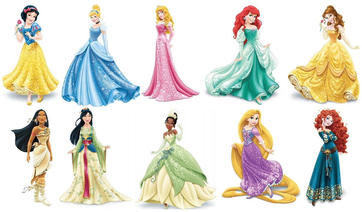 Disney Princesses clipart png