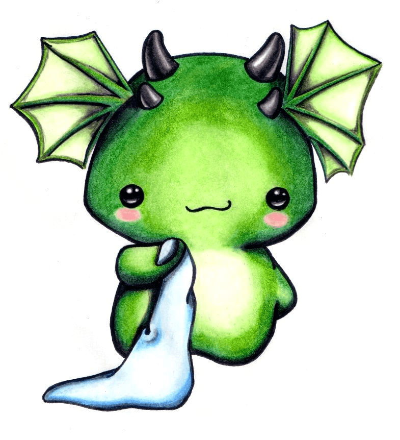 Download Baby Dragon clipart for free