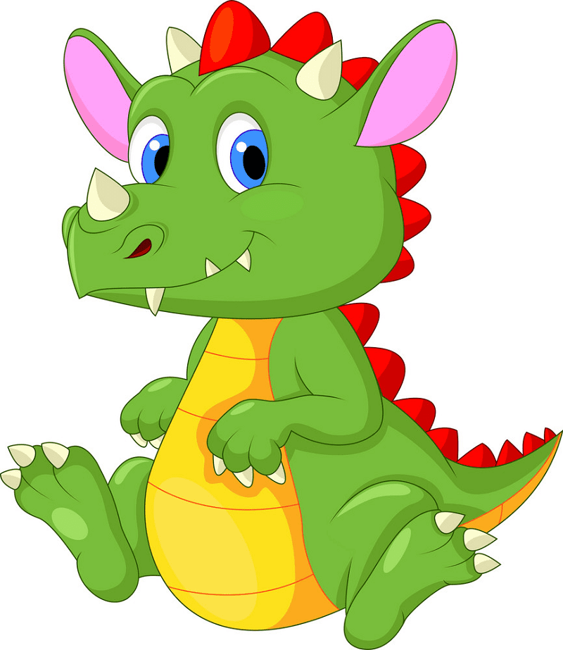 Download Baby Dragon clipart