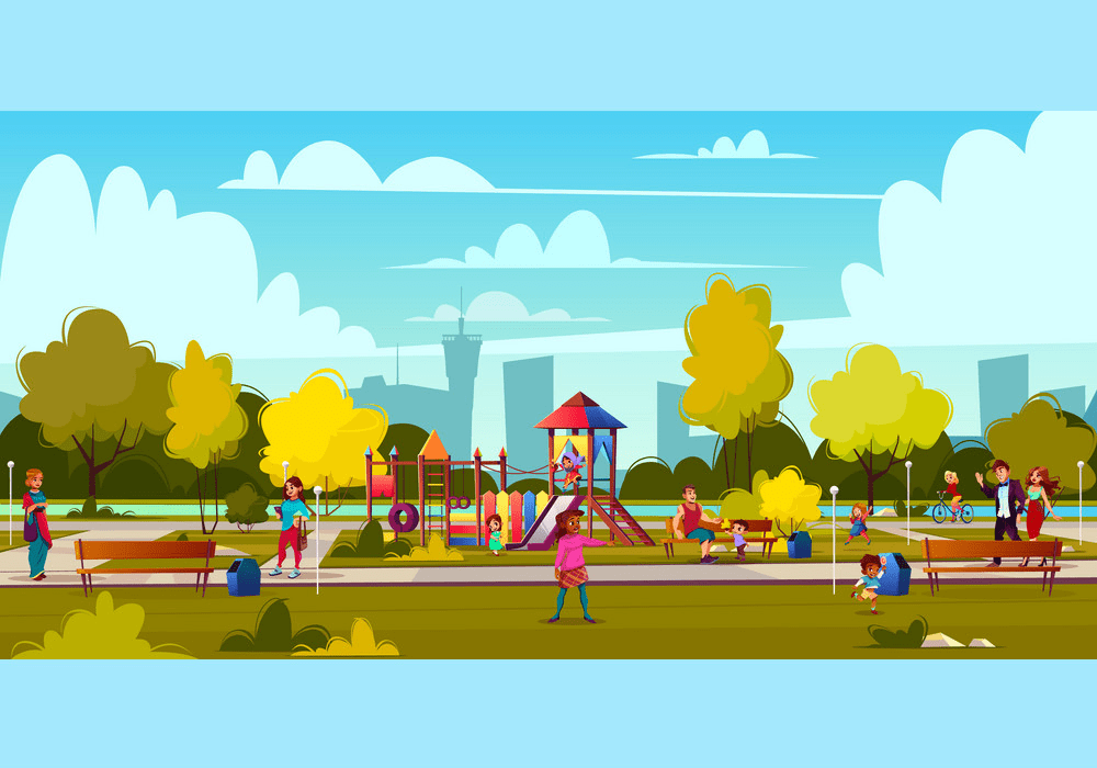 Download Park Playground clipart for free