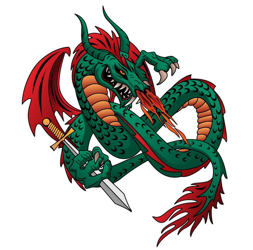 Dragon clipart free 2