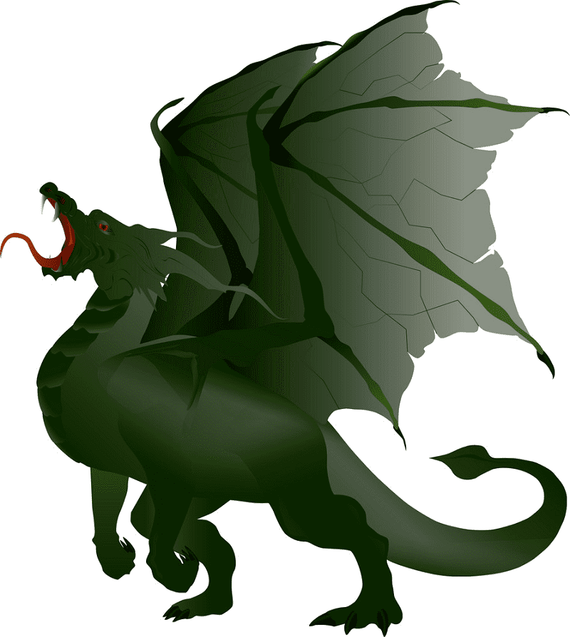 Dragon clipart png 1