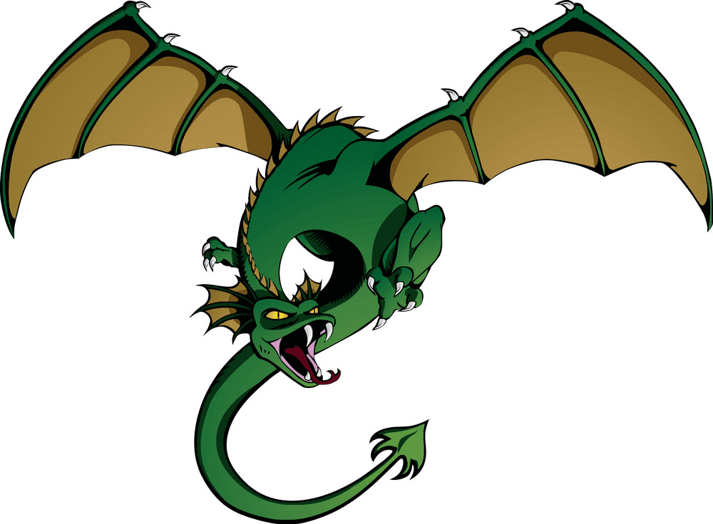 Dragon clipart png 2