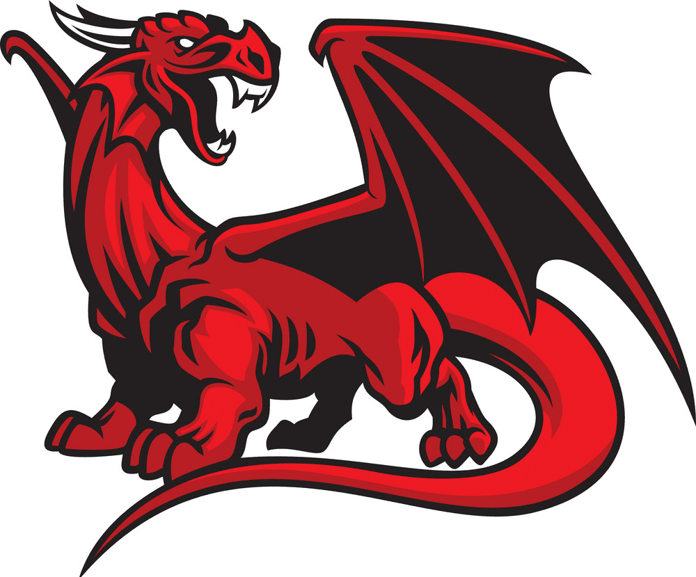 Dragon clipart png 4