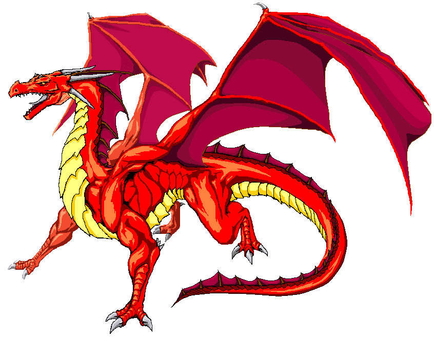 Dragon clipart png 5