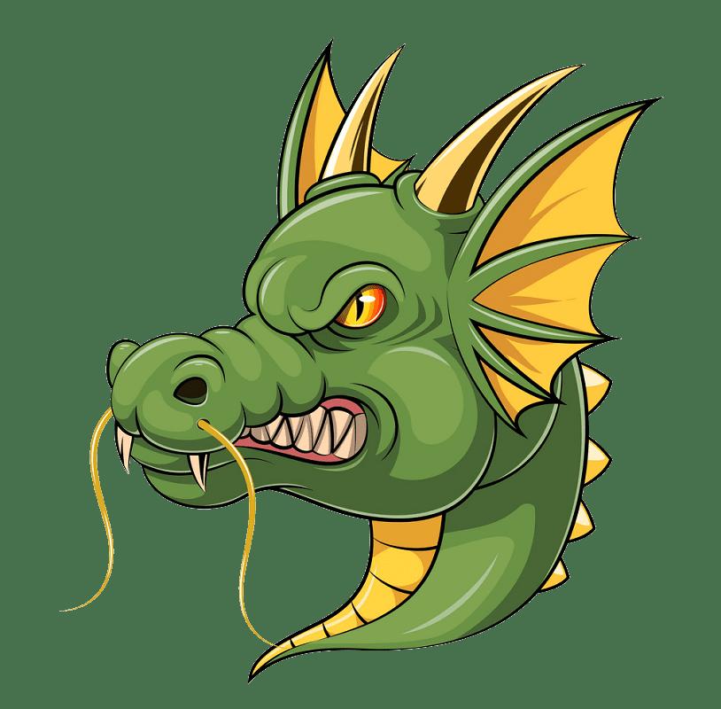 Dragon clipart transparent background 2