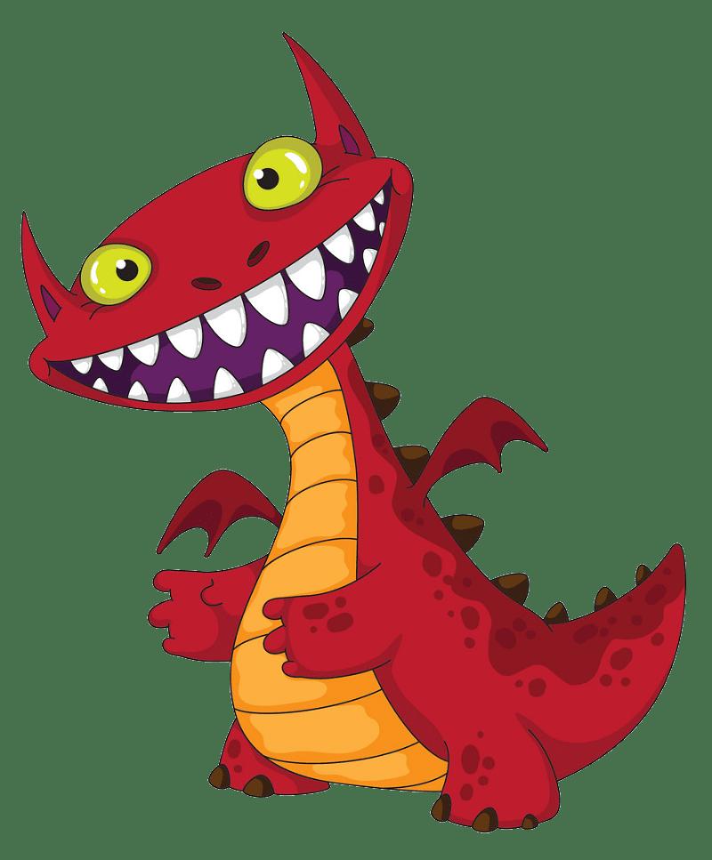 Dragon clipart transparent background 3