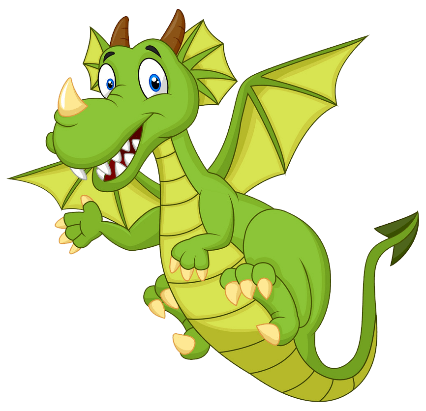 Dragon clipart transparent