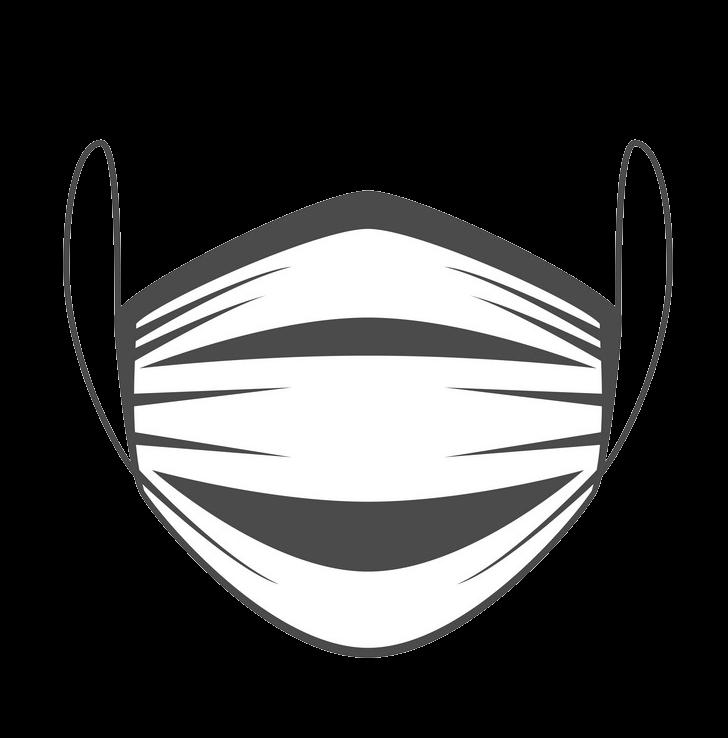 Face Mask clipart transparent 1