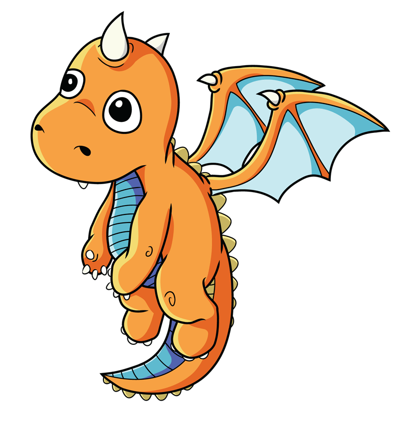Free Baby Dragon clipart image