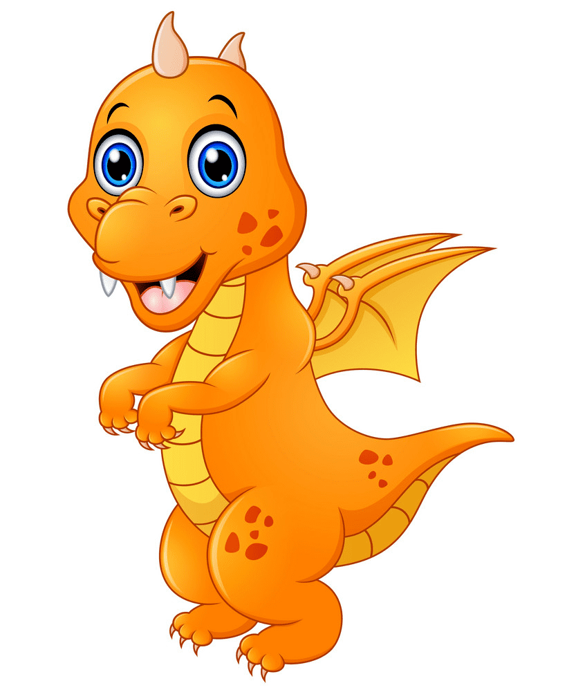 Free Baby Dragon clipart