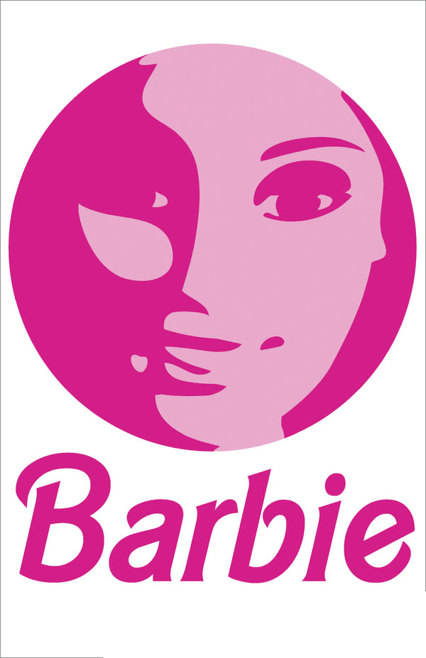 Free Barbie Clipart Logo png