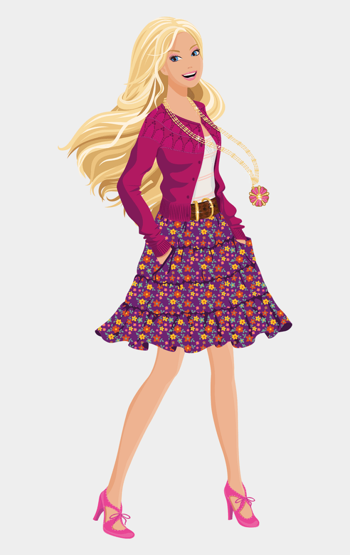 Free Barbie clipart