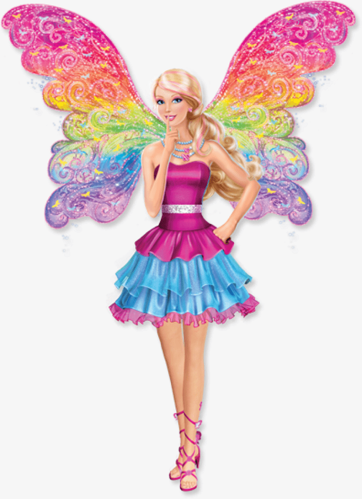 Free Barbie png clipart