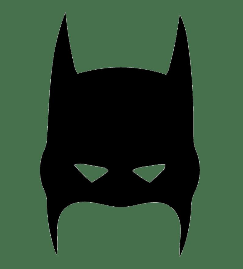 Free Batman Mask clipart transparent