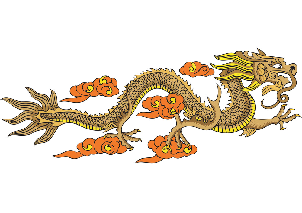 Free Chinese Dragon clipart png