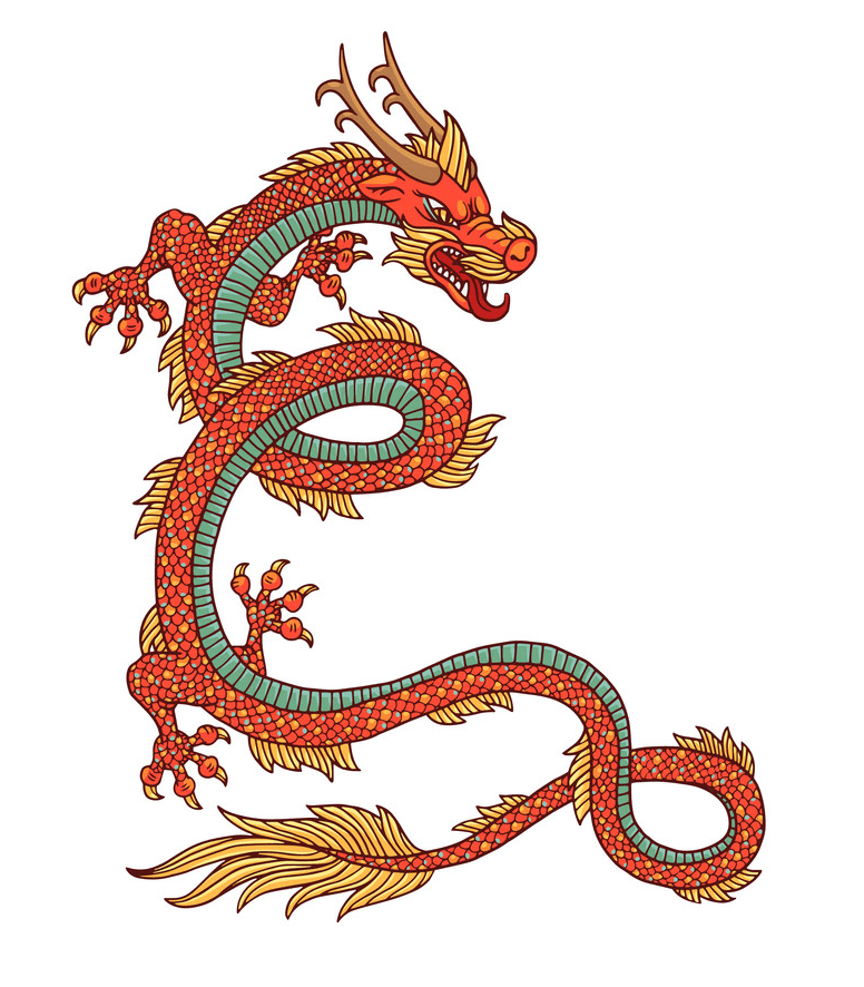 Free Chinese Dragon clipart