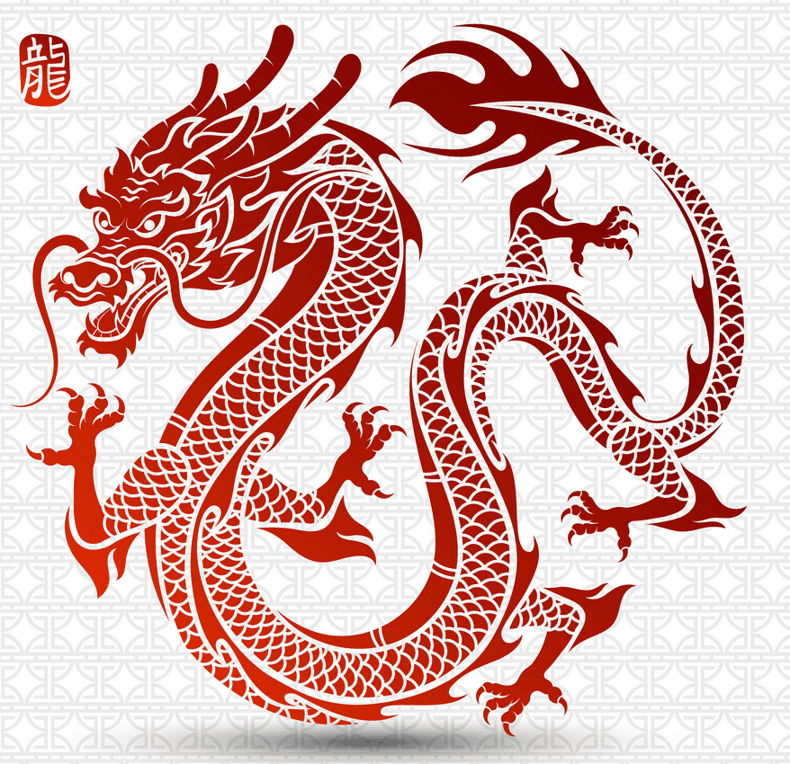 Free Download Chinese Dragon clipart