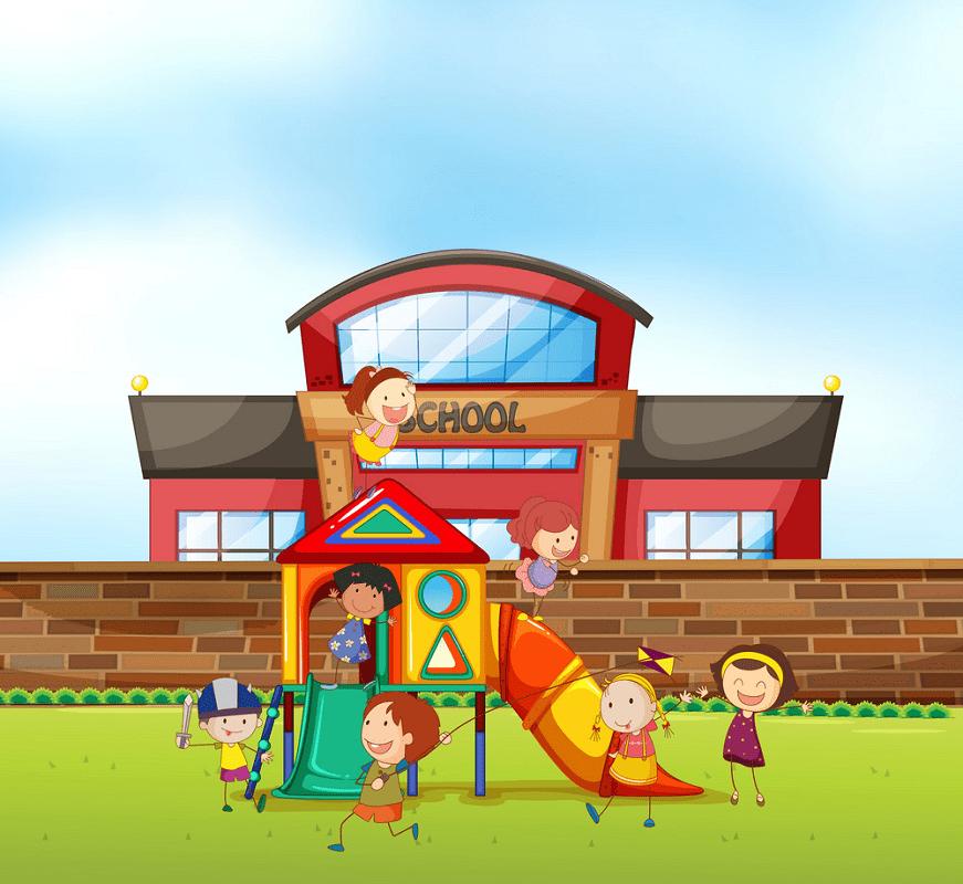 Free Download School Playground clipart