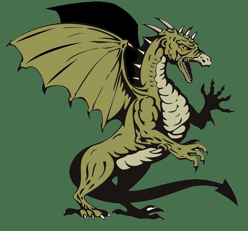 Free Dragon clipart transparent