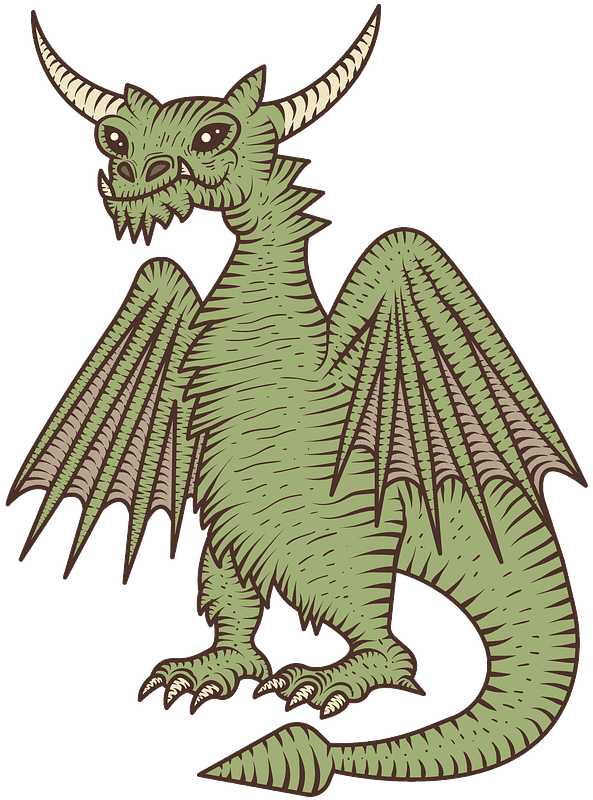 Free Dragon transparent clipart