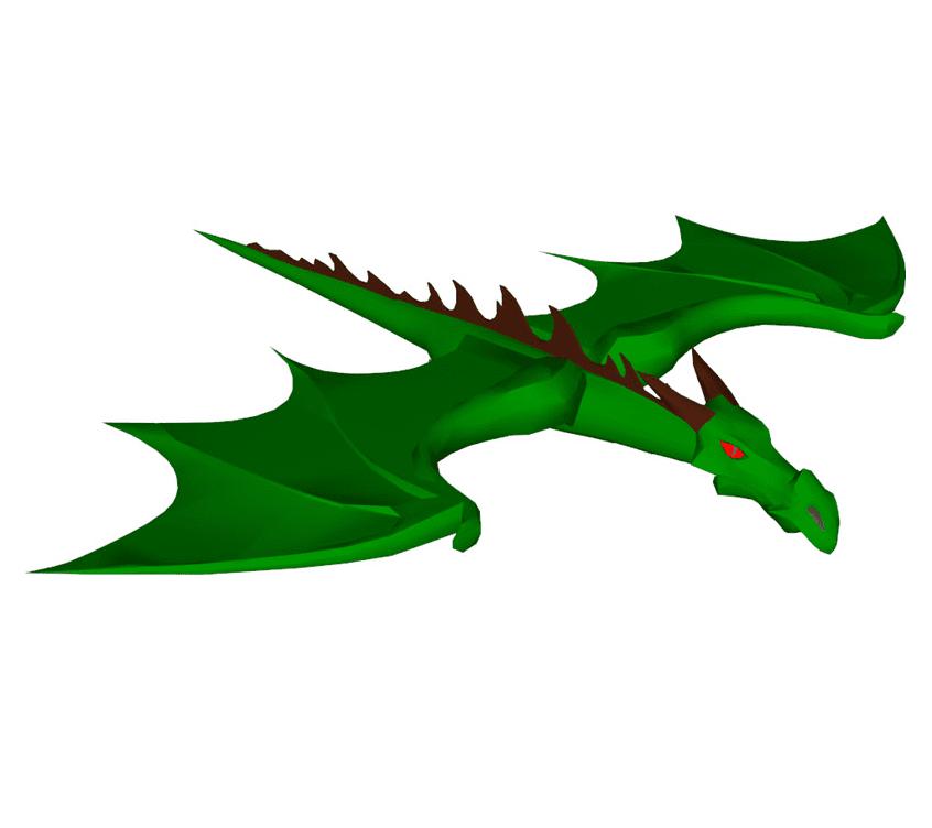 Free Green Dragon clipart