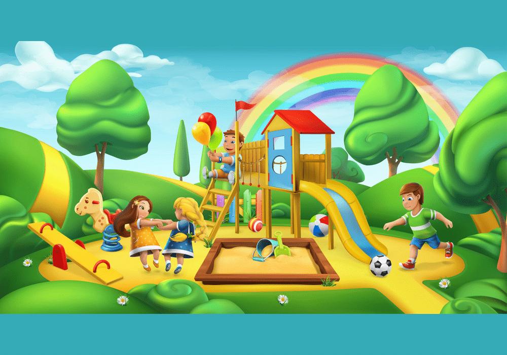 Free Park Playground clipart image