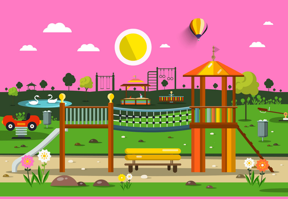 Free Park Playground clipart png image