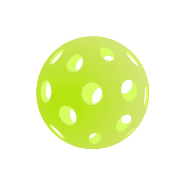 Free Pickleball Ball clipart