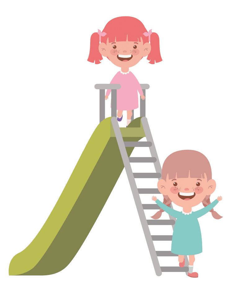 Free Playground Slide clipart png image